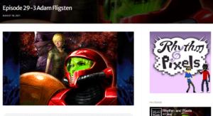 Silen Audio Founder Adam Fligsten Guests on the Rhythm & Pixels Podcast